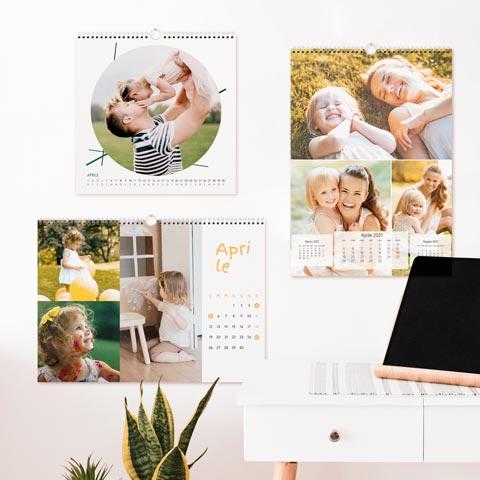 Calendari da parete 12 mesi